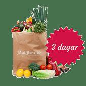 Tastelines Vegetariska Matkasse