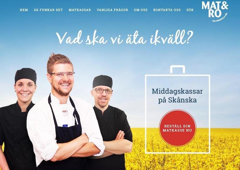 Mat och Ro's hemsida