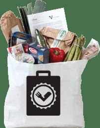 Vegetarisk matkasse