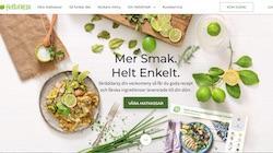 HelloFresh's hemsida