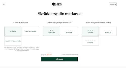 Linas Matkasse's hemsida
