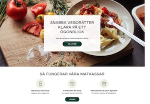 Simple Feast's hemsida