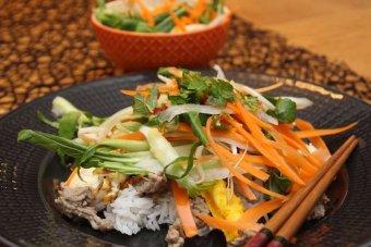 Vietnamese egg salad