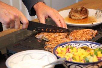 Tortilla & mangosalsa med carnitakryddad karré