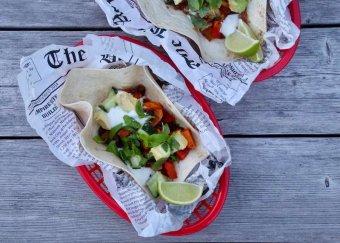 Tacos med sötpotatischili