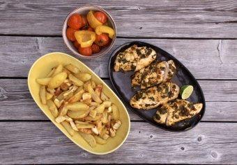 Marockansk kycklingfilé