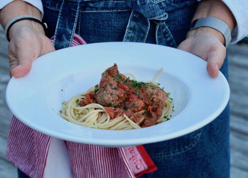 Frikadeller I Tomatsås Recept