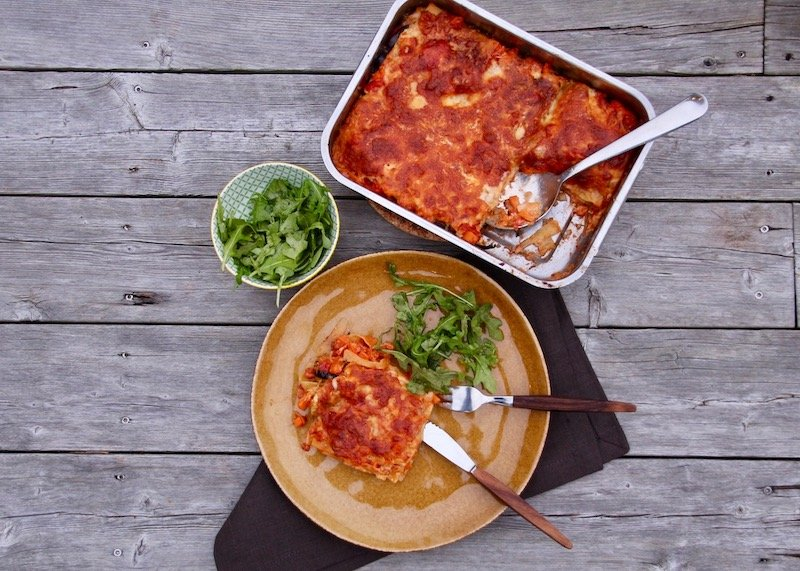 linas matkasse lasagne