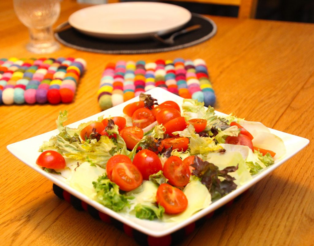Sallad veg middag