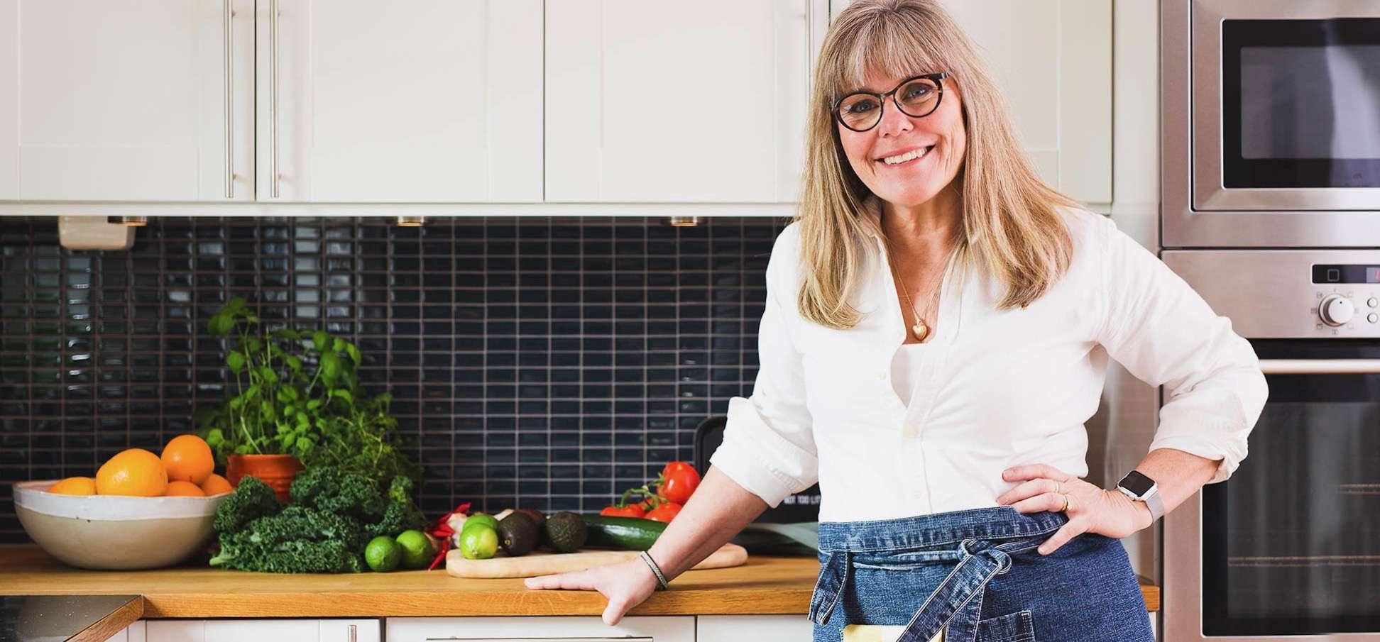 Gisela i sitt kök